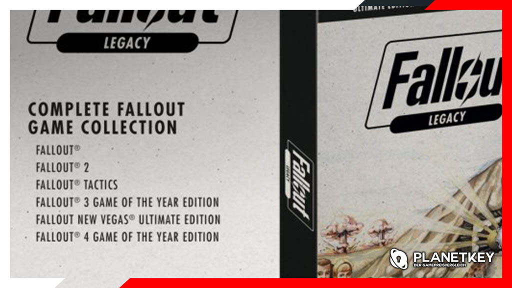 Fallout: Legacy Collection soll alle Singleplayer enthalten
