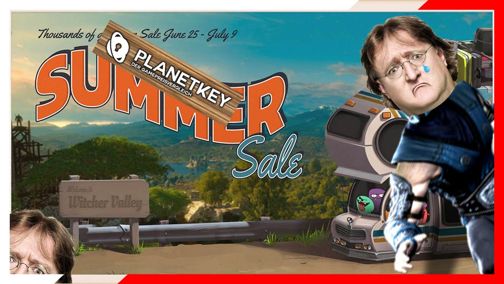 PLANETKEY VS. STEAM SUMMER SALE 2020