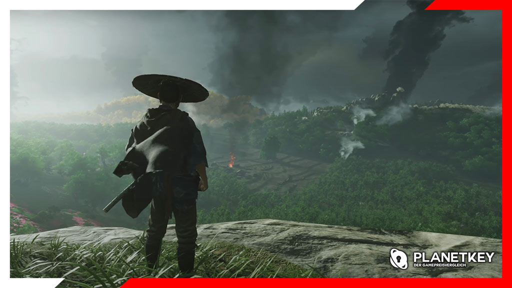 Ghost of Tsushima hält Platz 1 in den UK, Paper Mario rutscht ab