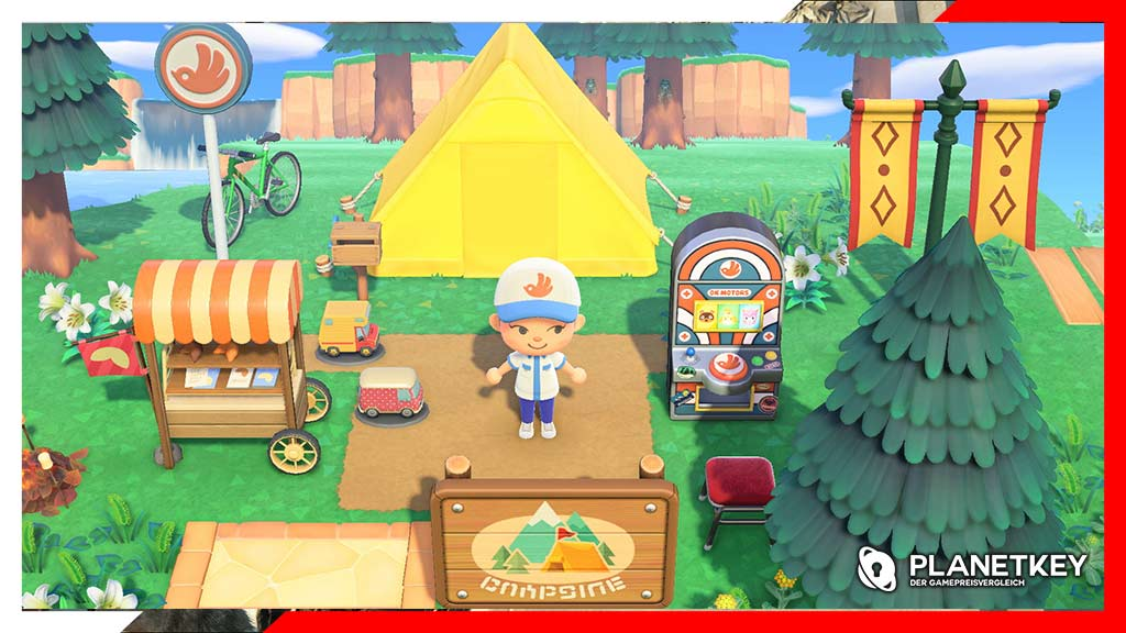 Animal Crossing: New Horizons Sommer-Update Teil 2 fügt Glitch als permanentes Feature hinzu