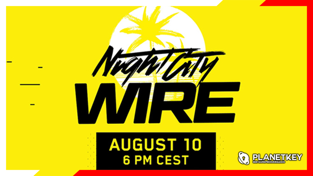 Cyberpunk 2077 Night City Wire Stream