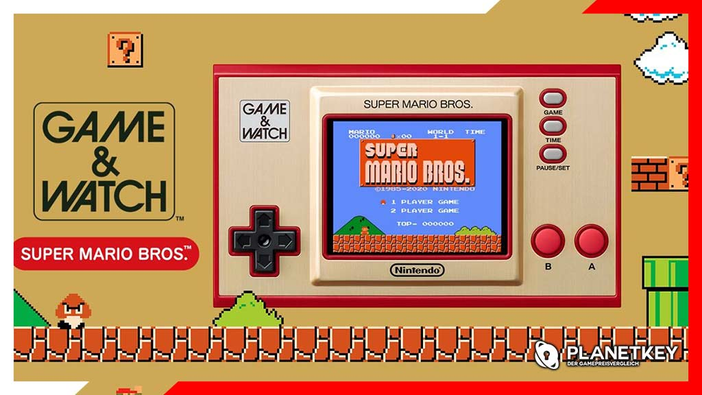 Der Game & Watch-Handheld, der im November startet
