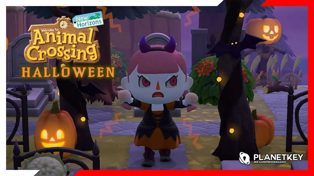 Halloween kommt zu Animal Crossing: New Horizons