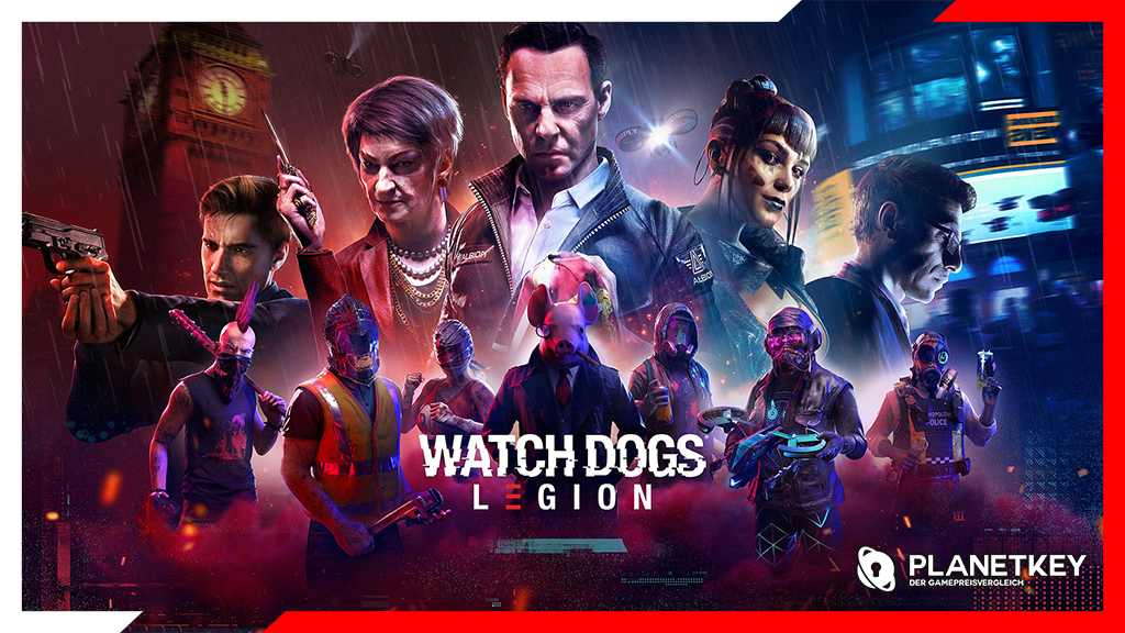 Ubisoft Connect fügt Watch Dogs: Legion Crossplay und Cross-Save hinzu