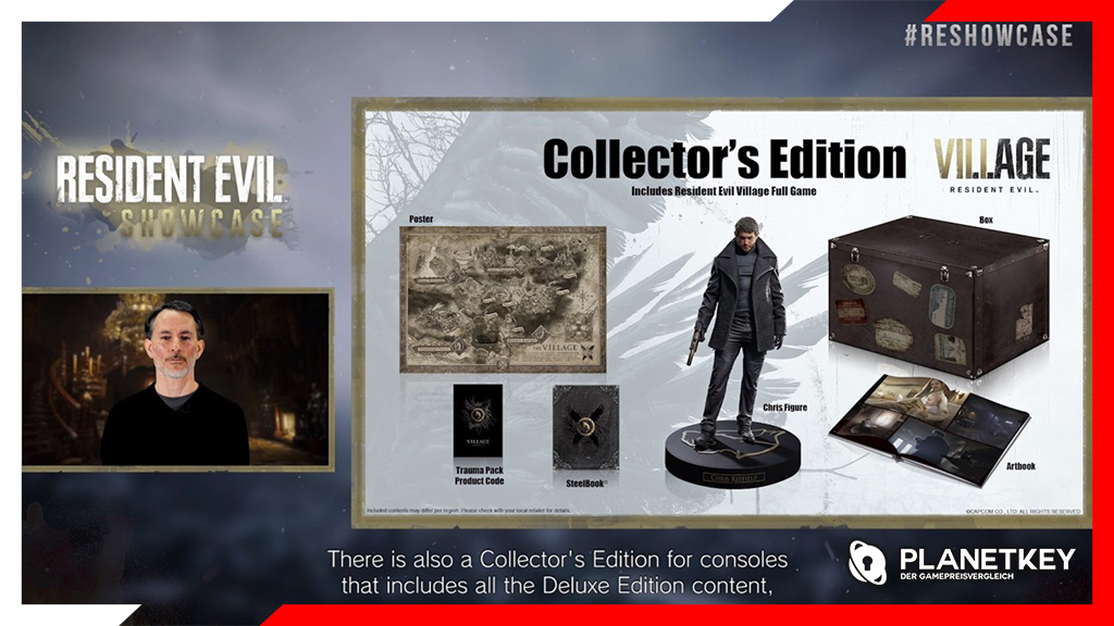 Resident Evil Village Collector's und Deluxe Edition enthüllt
