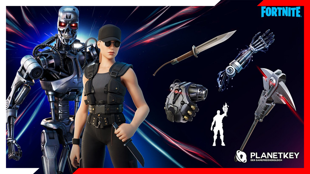 Terminator Skins in Fortnite