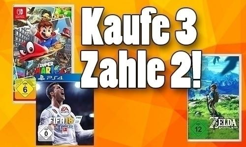 3 Spiele Zum Preis Von 2