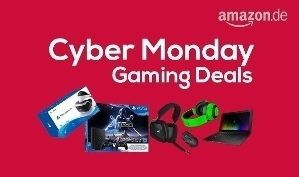 AMAZON CYBER MONDAY - PS4 Bundles, PS4 VR Bundles, PC Gamer Equipment bis zu 40% reduziert!