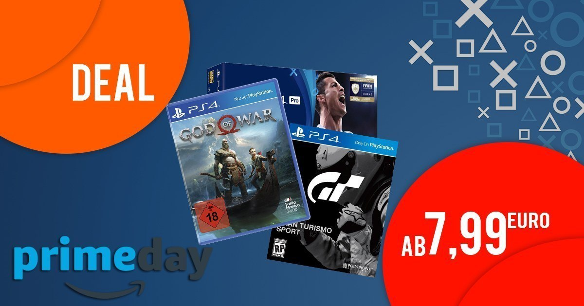 AMAZON PRIME DAY - Playstation 4 Bundles & Spiele