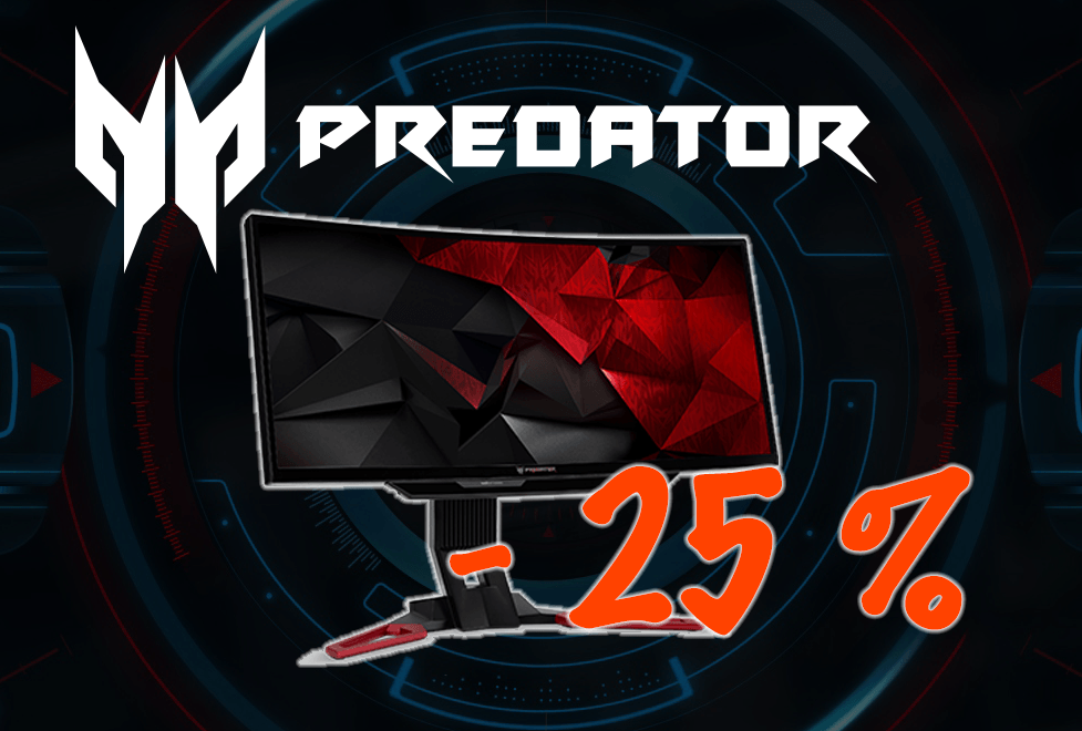 (amazon.de) Acer Predator Z301CT 27,5 - 200Hz Gaming Monitor - 25% günstiger!