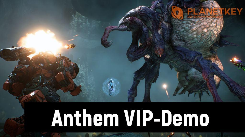 Anthem VIP-Demo startet in Kürze!