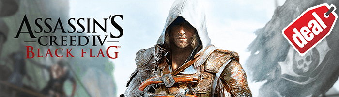 Assassin's Creed 4 Black Flag für einmalige 4,95€!