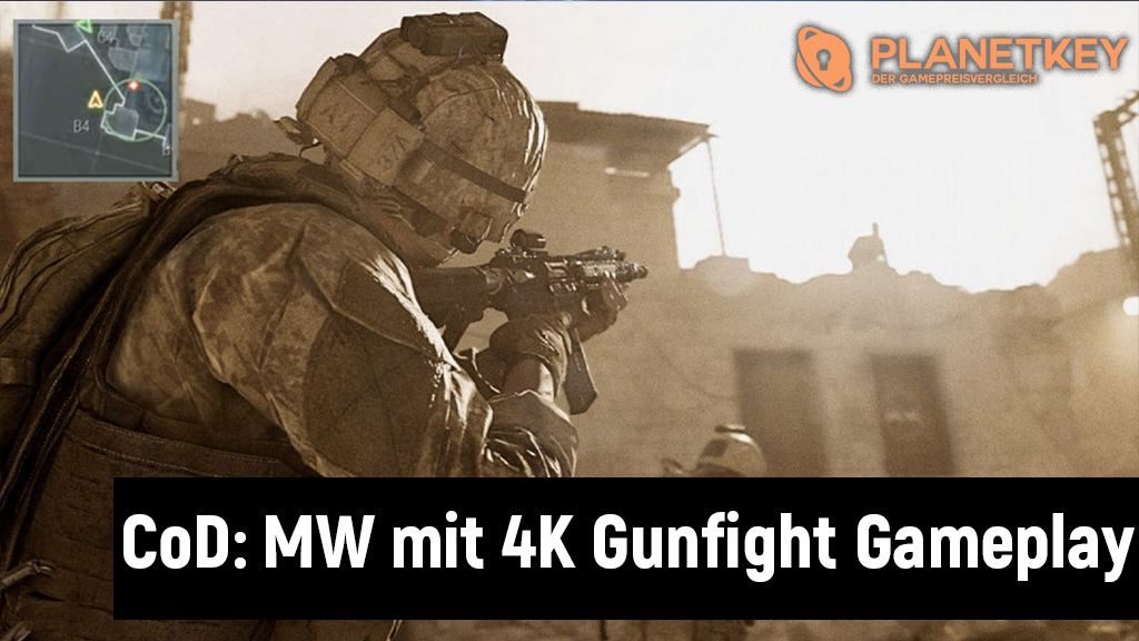 Call of Duty Modern Warfare Gunfight Gameplay