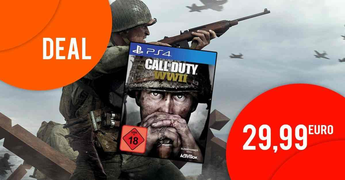 Call of Duty: WW2 (PS4) für 29,99 EUR