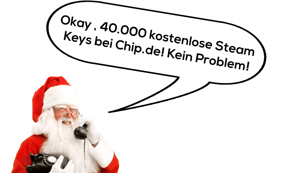 CHIP.DE verschenkt 40.000 Steam Keys im Adventskalender