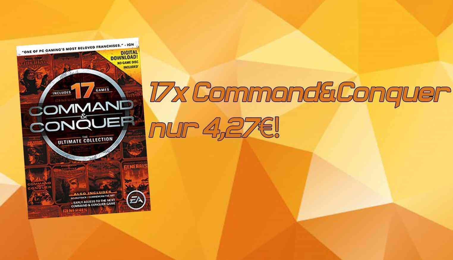 Command and Conquer: The Ultimate Edition nur 4,27€