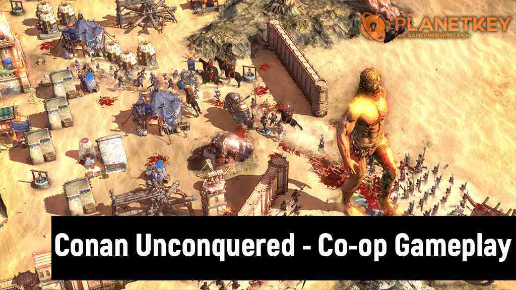Conan Unconquered - Kooperativer Modus im Video