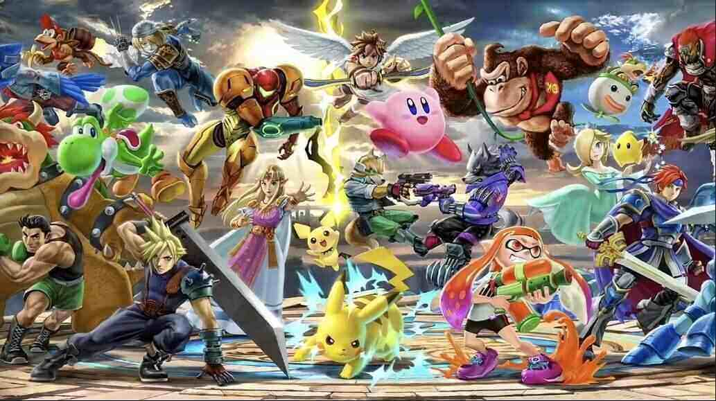 Countdown zu Super Smash Bros Ultimate