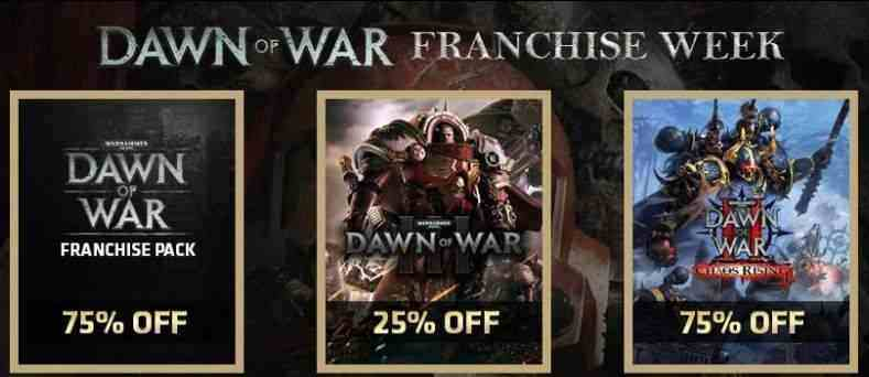 Dawn of War Franchise Week bei 2game!