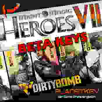 Dirty Bomb Beta oder Heroes of Might and Magic VII Beta zum günstigen Preis