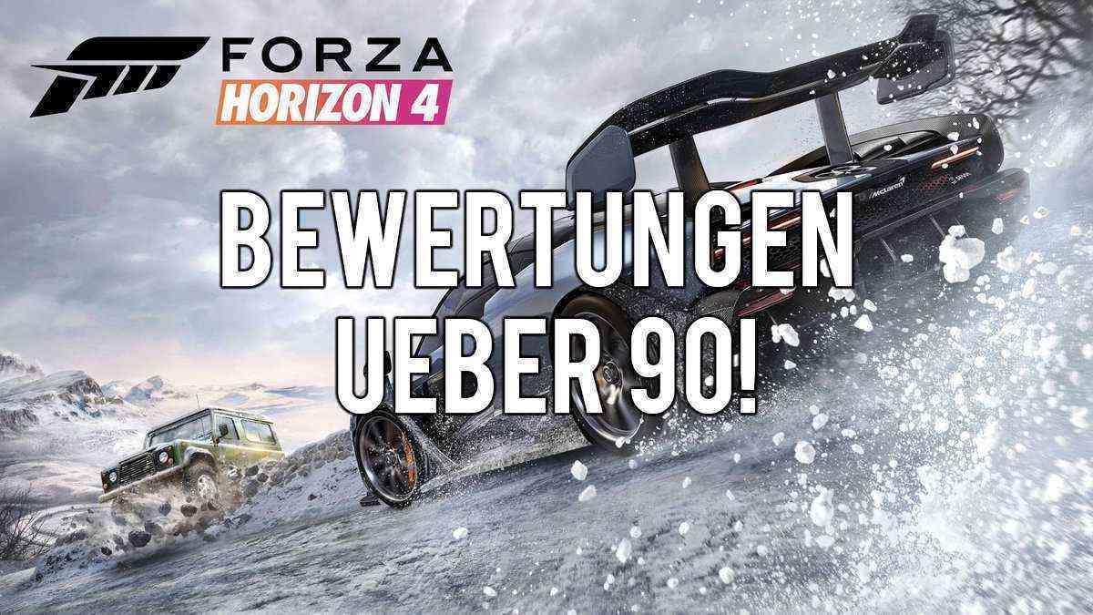 Forza Horizon 4 - internationale Topwertungen