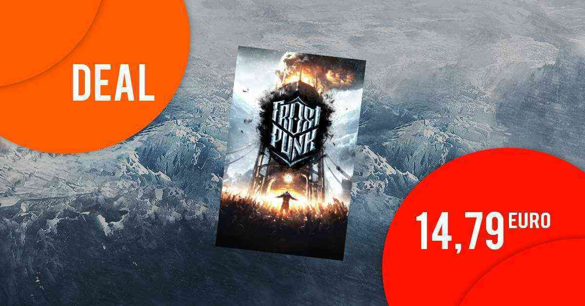 Frostpunk (Steam) nur 14,79 EUR