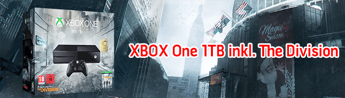 Günstige XBOX ONE 1TB inkl. Tom Clancy's The Division bei SATURN