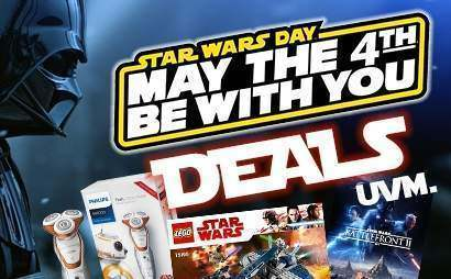 May the 4th be with you! Star Wars Day - Deals und Angebot Ãœbersicht