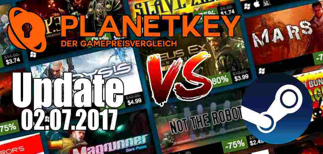 Planetkey vs. Steam Summer Sale 02.07.2017