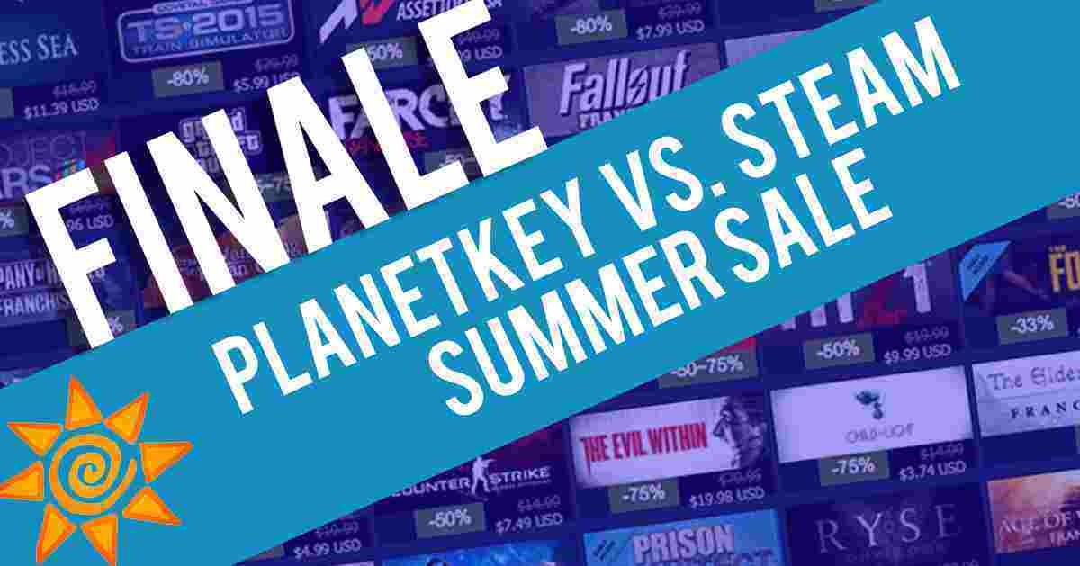 PLANETKEY VS. STEAM SUMMER SALE 05.07.2018