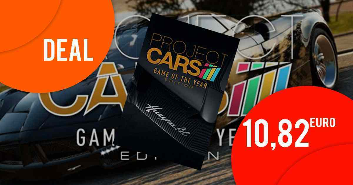 Project Cars - Game of the Year Edition für nur 10,82 EUR