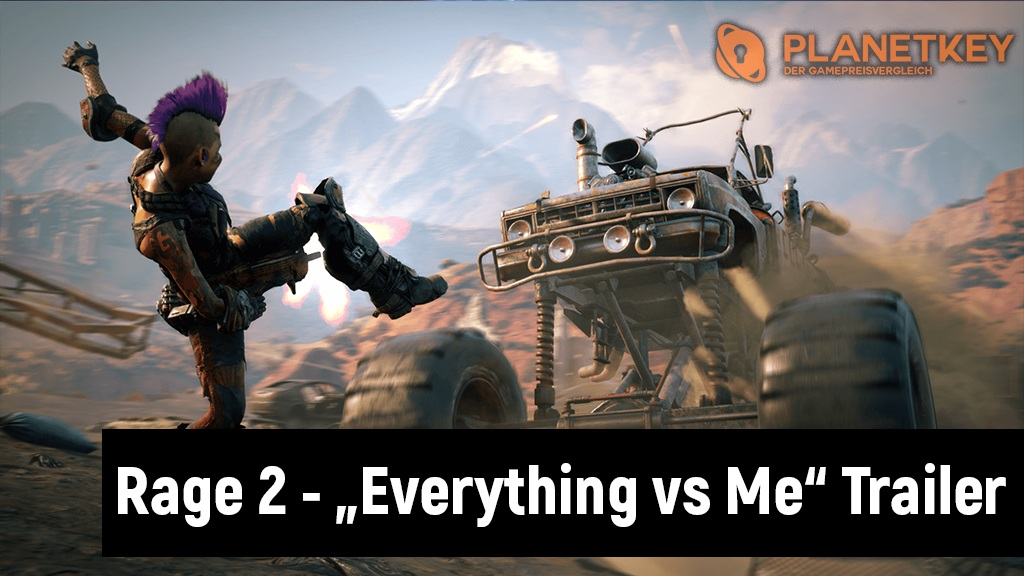 Rage 2 - Gegner im Everything vs. Me Trailer