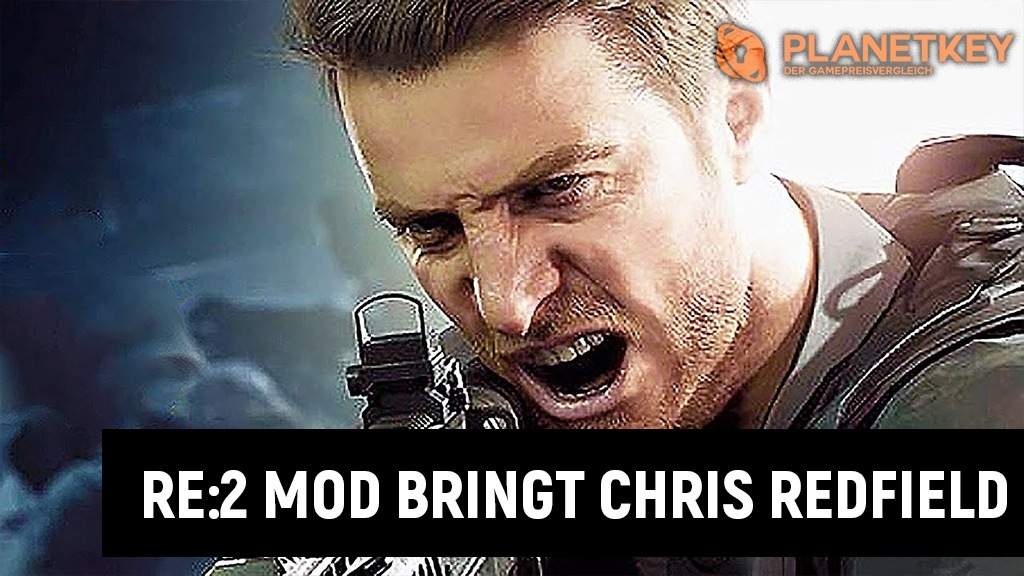 RE:2 Remake - Mod macht Chris Redfield spielbar