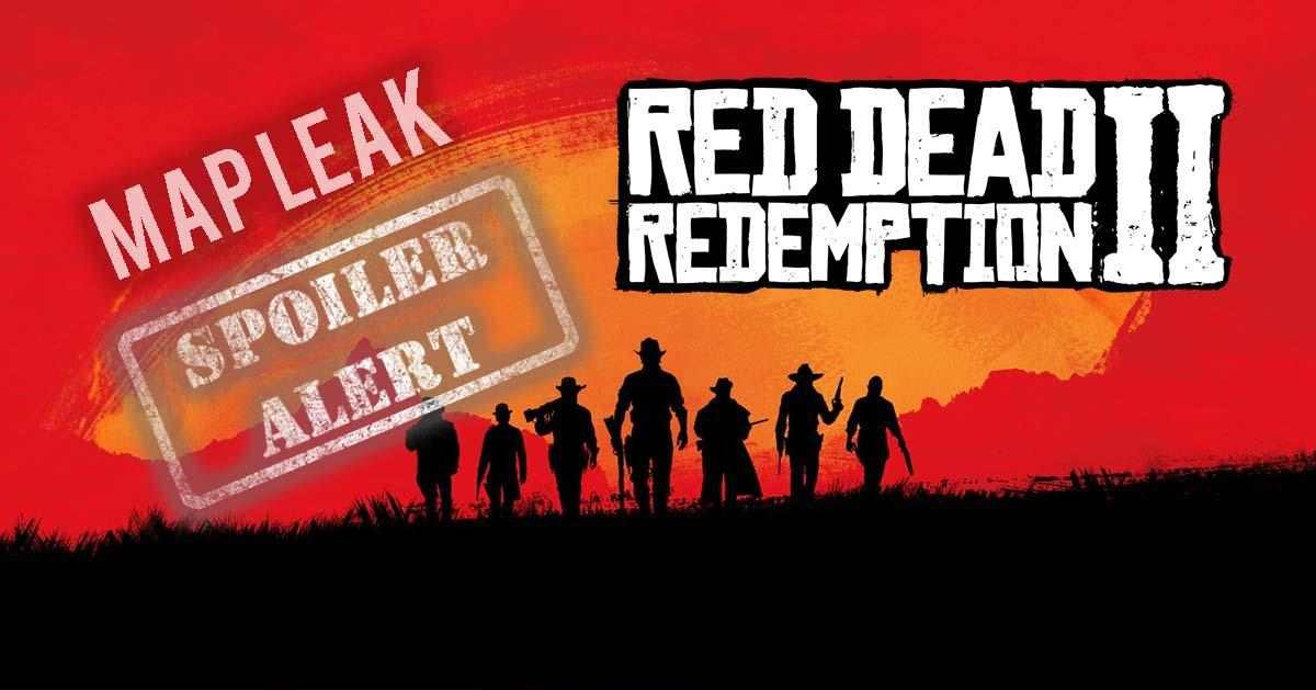 Red Dead Redemption 2 Map geleakt (Spoiler)