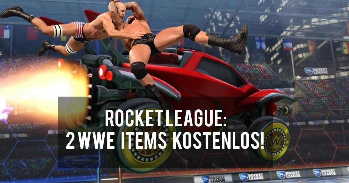Rocket League - 2 kostenlose WWE Items