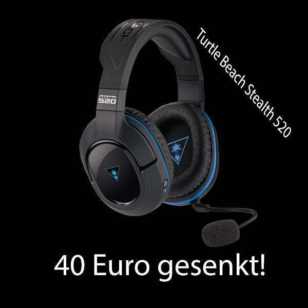 Turtle Beach Stealth 520 Wireless DTS 7.1 Surround Sound Gaming Headset für 66,96 EUR
