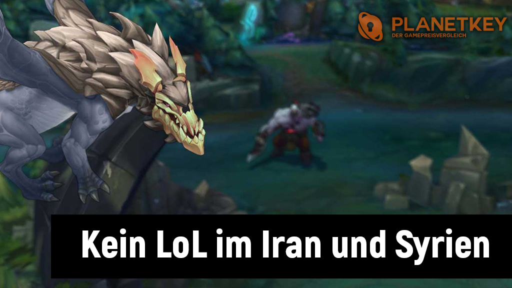 US-Sanktionen blockieren League of Legends in Syrien und Iran