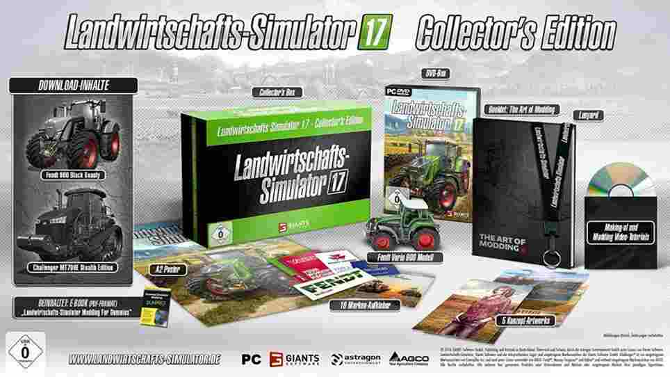 WoW! Hole dir jetzt die ultimative Landwirtschafts-Simulator 17 Collector's Edition!