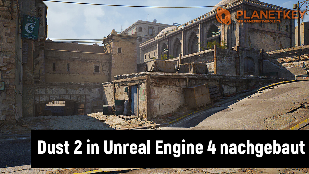Wow! So gut sieht CS:GO in Unreal Engine 4 aus