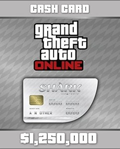 GTA V Cash Card - Great White Shark (1.250.000) kaufen