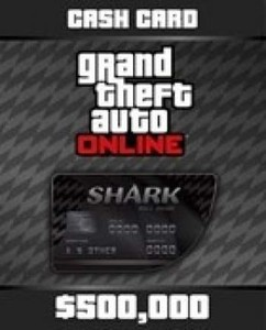 GTA V Cash Card kaufen - Bull Shark 500.000