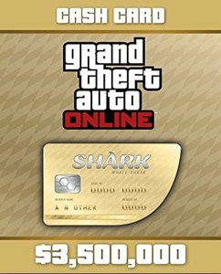 GTA V Cash Card kaufen - Whale Shark 3.500.000