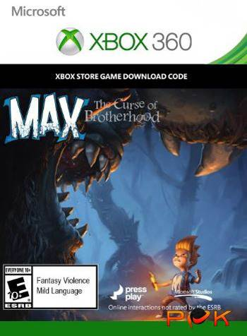 Max the Curse of Brotherhood - Xbox 360 Download Code kaufen