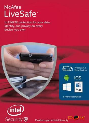 McAfee Live Safe 2016 Unlimited Edition Download Code kaufen