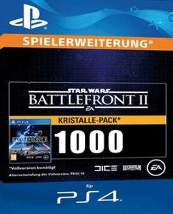 Star Wars Battlefront 2 [PS4] - 1000 Crystals