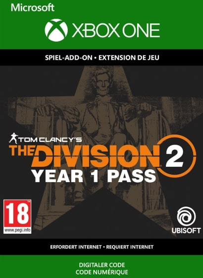 The Division 2 Year 1 Pass Xbox One Code kaufen