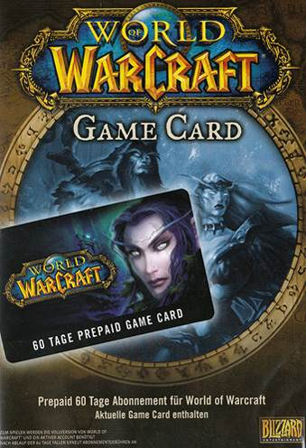 World of Warcraft Gamecard kaufen - Prepaid 60 Tage