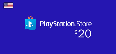Playstation Network Card - PSN Key - 20 USD - Dollar