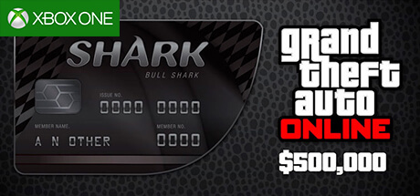 GTA Online Cash Card - 500.000 $ - Bull Shark [Xbox One]