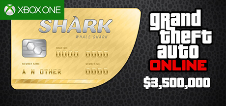 GTA Online Cash Card - 3.500.000 $ - Whale Shark [Xbox One]